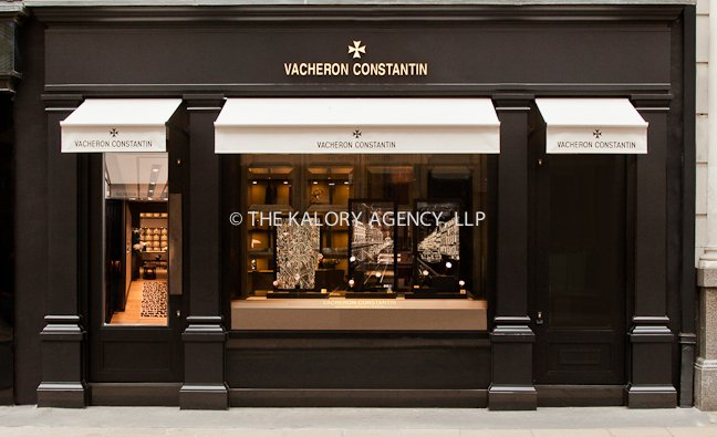 Mayfair store photographer pictures of vacheron for Exterior design of a retail store