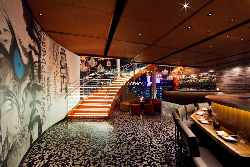 Interior design and architecture restaurant photography for Retail interior designers in london