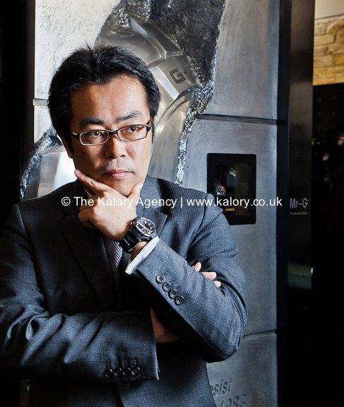 Portrait of  HIROAKI KUBO from Casio Watches UK