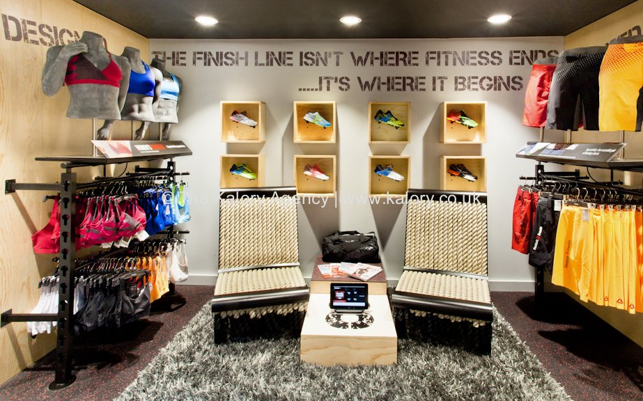 New reebok store in covent garden london photographed by for Retail interior design agency london