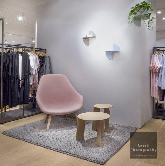Interior stores shoot London photographers lighting quality