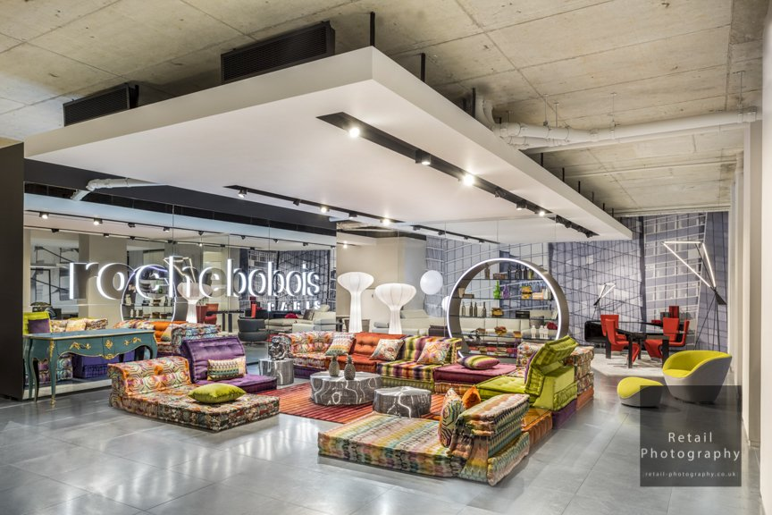interior store retail specialist photographers London lighting