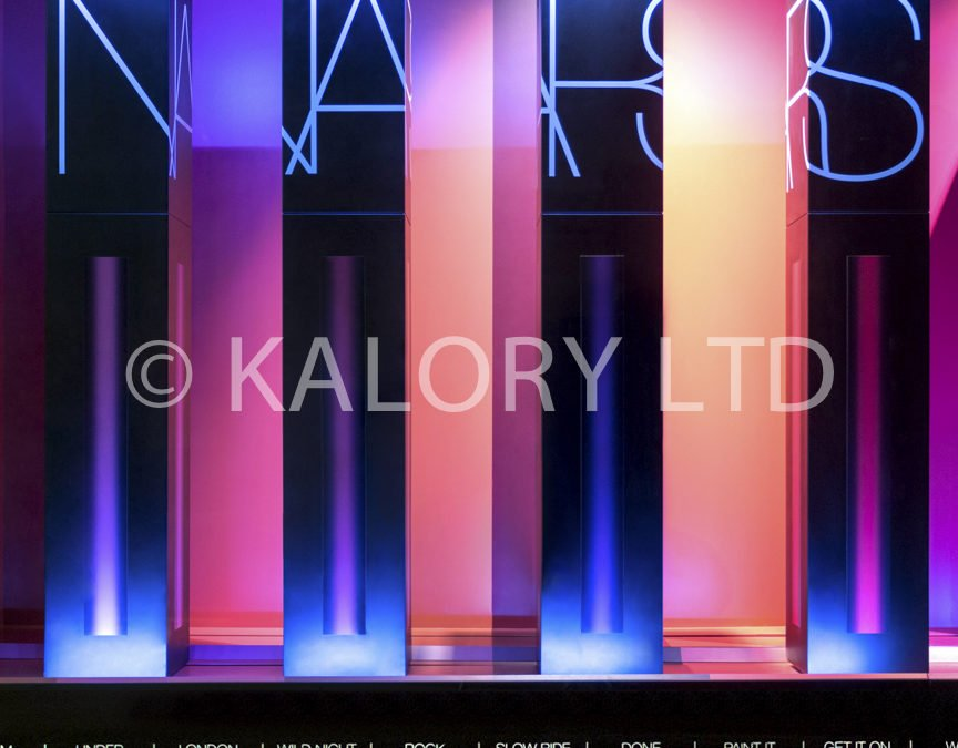 Interior Photography at Selfridges for Nars Cosmetics