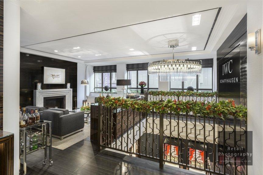 Interior store photographers london luxury space quality