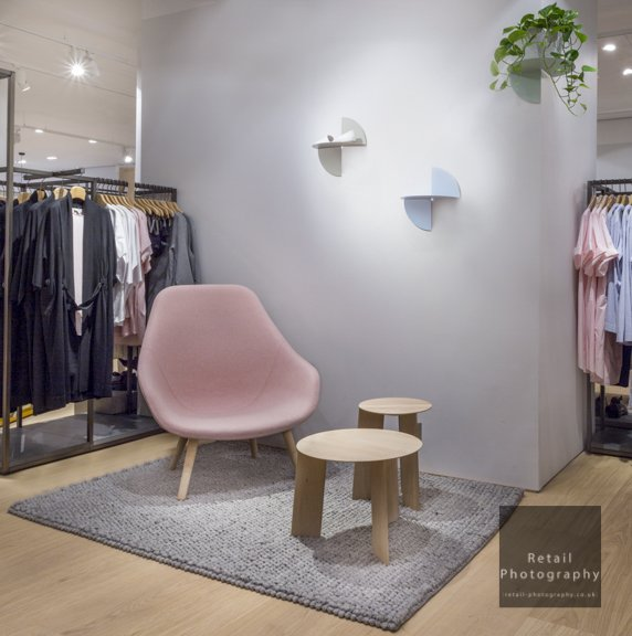 Interior stores shoot London photographers lighting quality