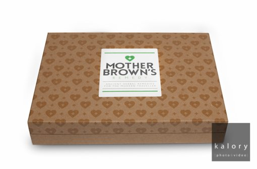Packshot of packaging for mother brown's