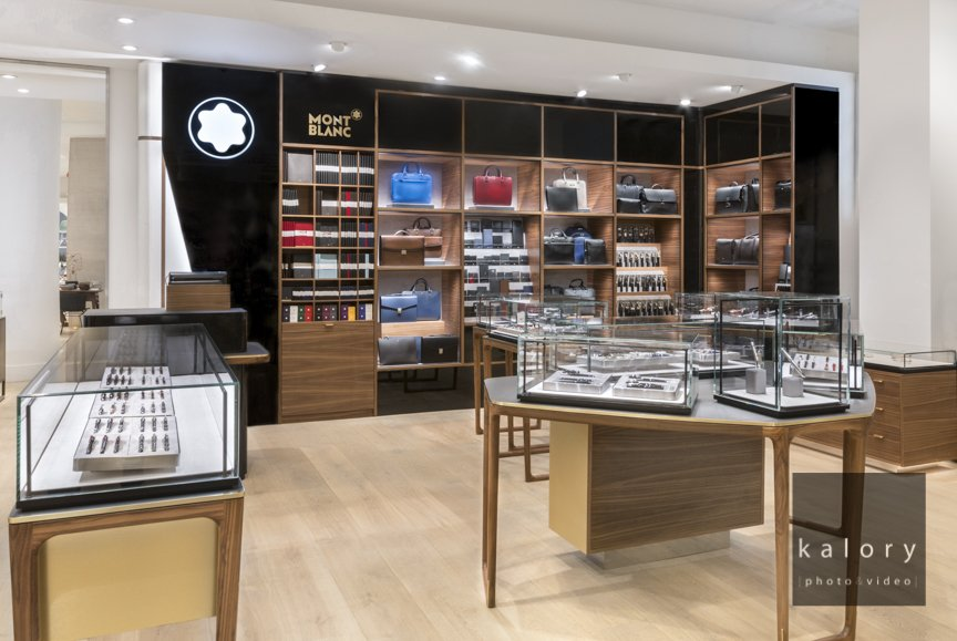 Montblanc shop in shop in Selfridges