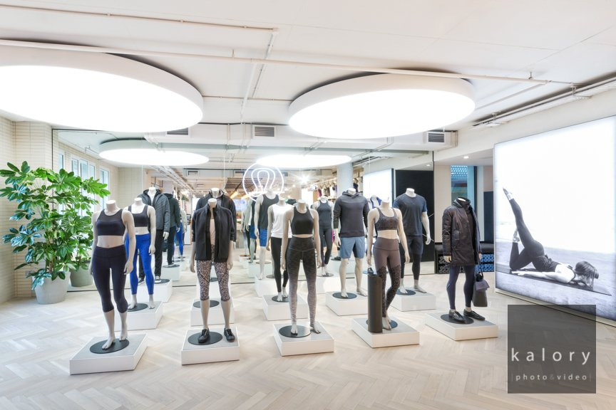 Mayfair retail architecture and interior design in picture