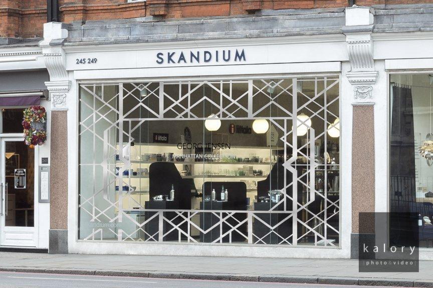 pics of the skandium store in London
