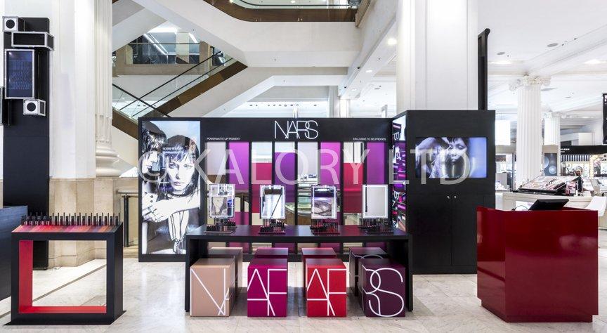 Nars cosmetics pop up store