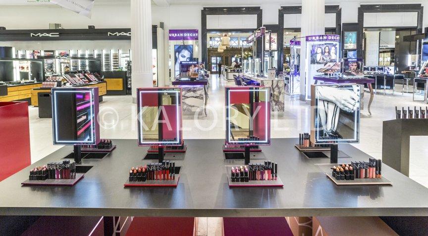 nars cosmetics interior photography