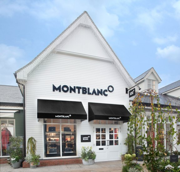 Exterior picture of a store in Bicester Village